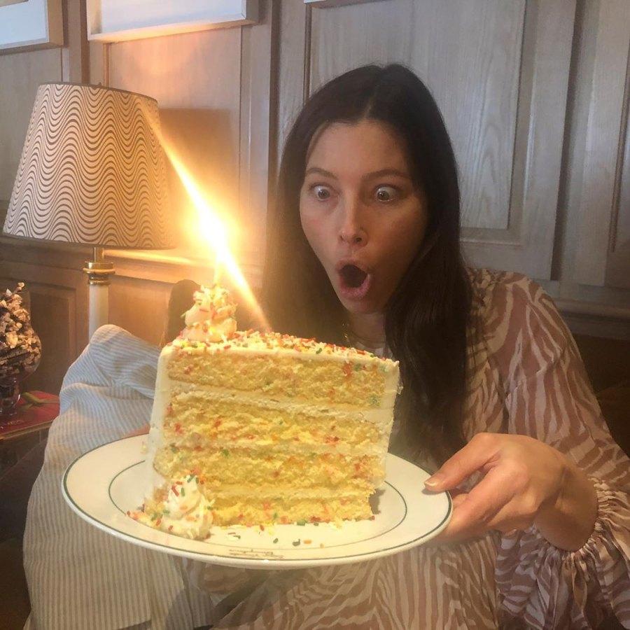 Jessica Biel cake