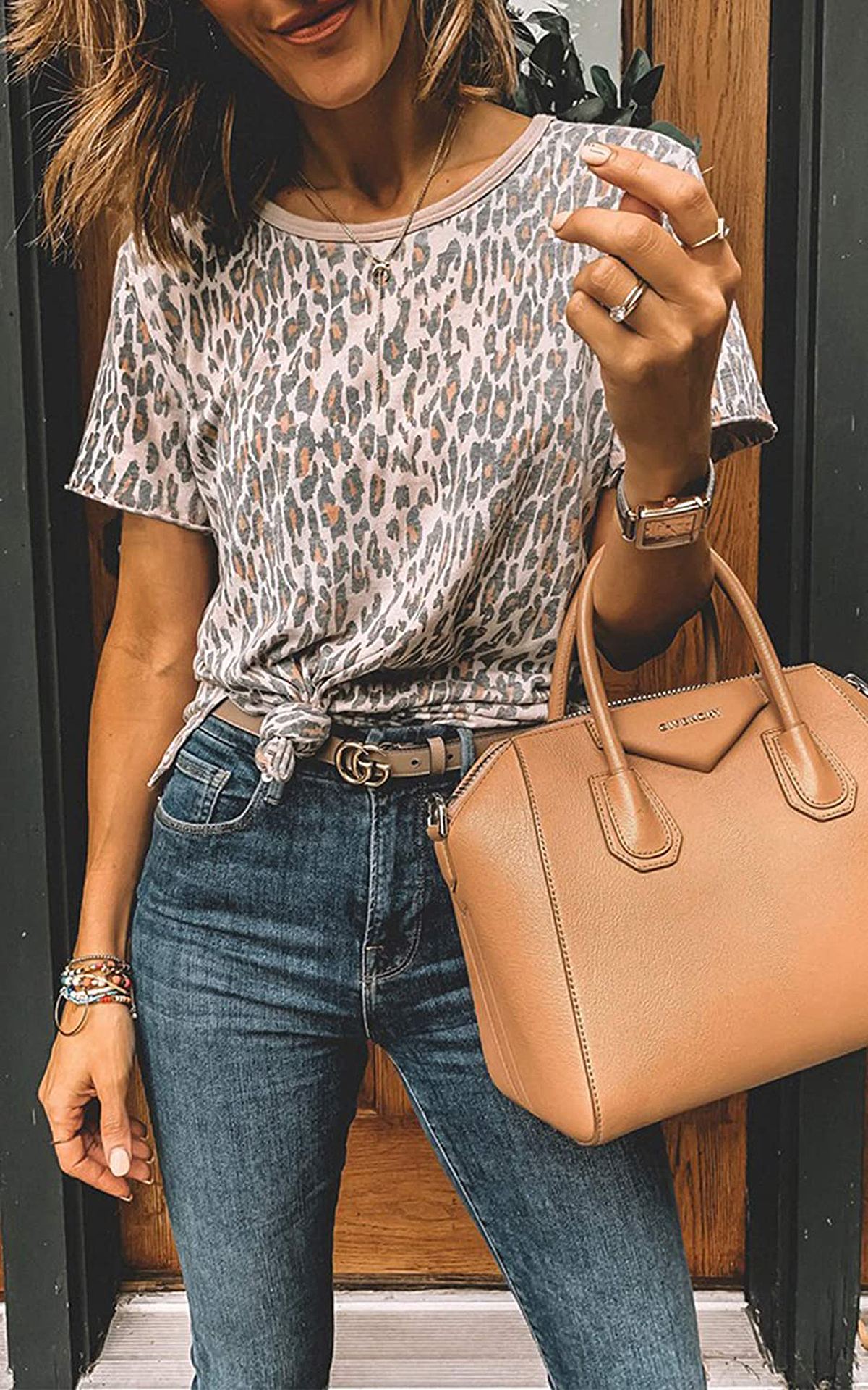 This Leopard-Print Tee Is a Serious Upgrade From Boring Basics