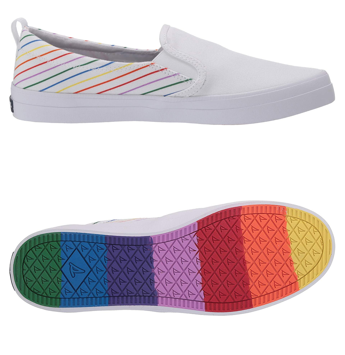 Sperry Crest Twin Gore Pride Slip-Ons