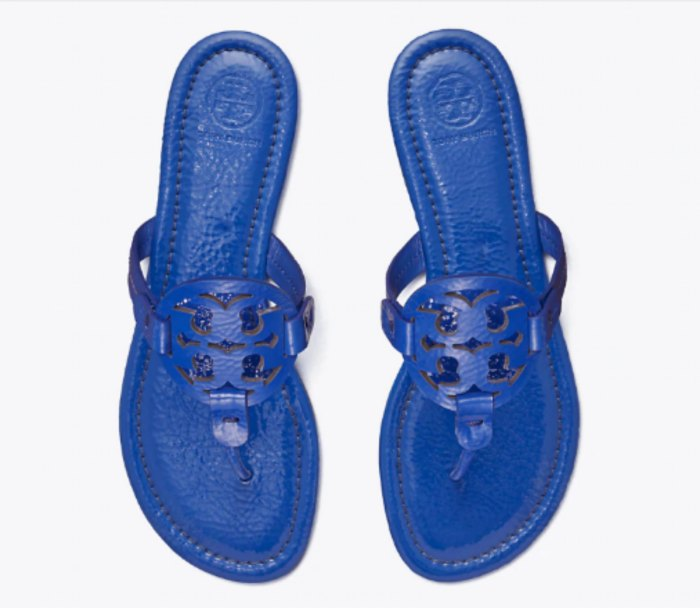 Miller Sandal, Patent Leather