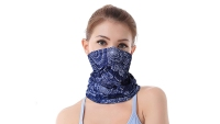 ZERDOCEAN 6-Pack Neck Gaiter Face Masks