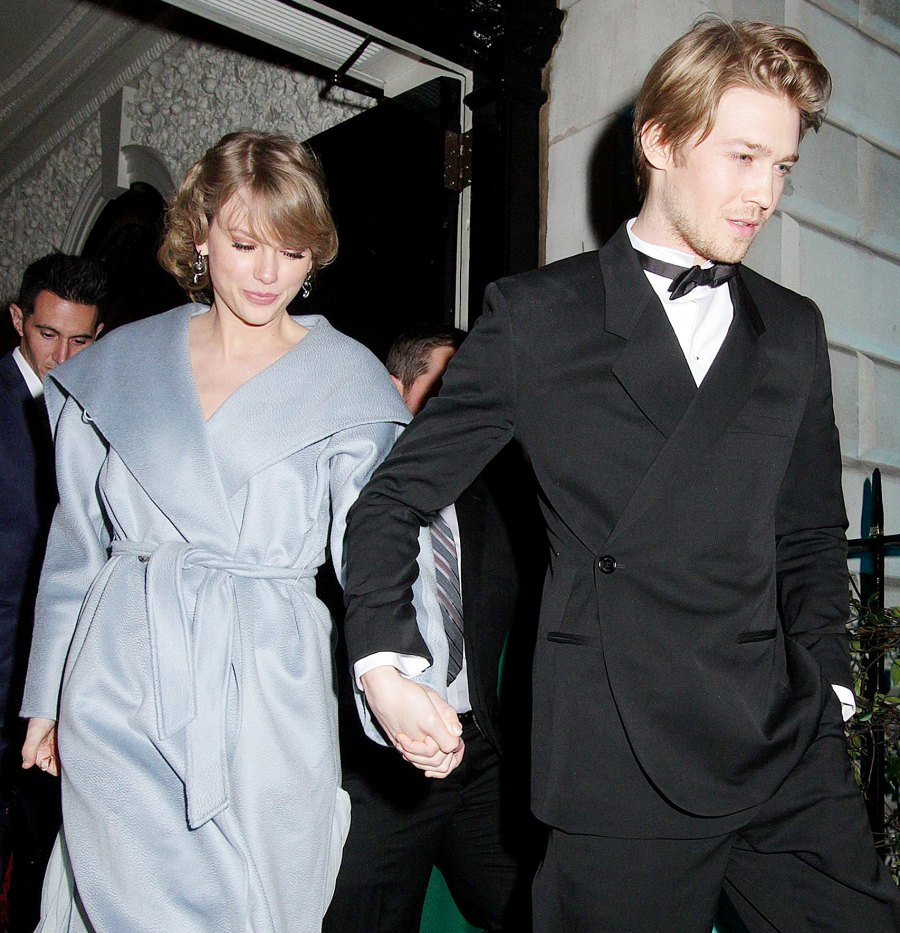 Taylor Swift and Joe Alwyn Leaving the British Vogue Fashion and Film BAFTA party 6 Times Taylor Swift May Have Referenced Joe Alwyn on Folklore