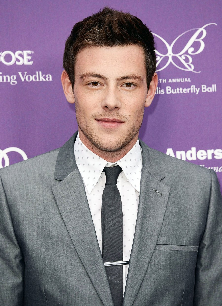 Cory Monteith arrives at the 12th Annual Chrysalis Butterfly Ball Glee Tragedies Through the Years