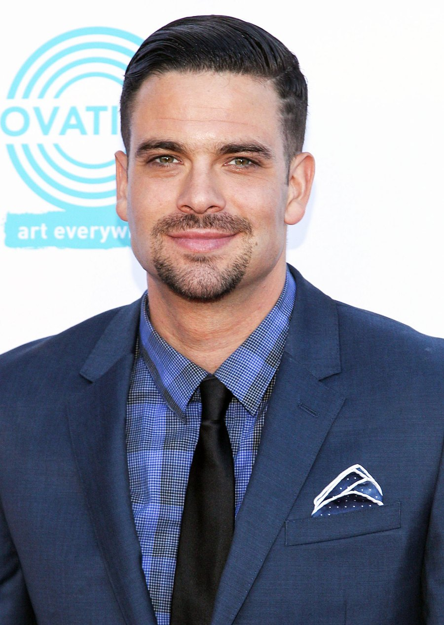 Mark Salling attend the 4th Annual Celebration of Dance Gala Glee Tragedies Through the Years
