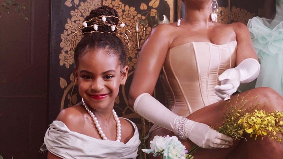 Blue Ivy Carter in Black Is King All the Times Beyonce Kids Blue Ivy Sir and Rumi Appeared in Black Is King Visual Album