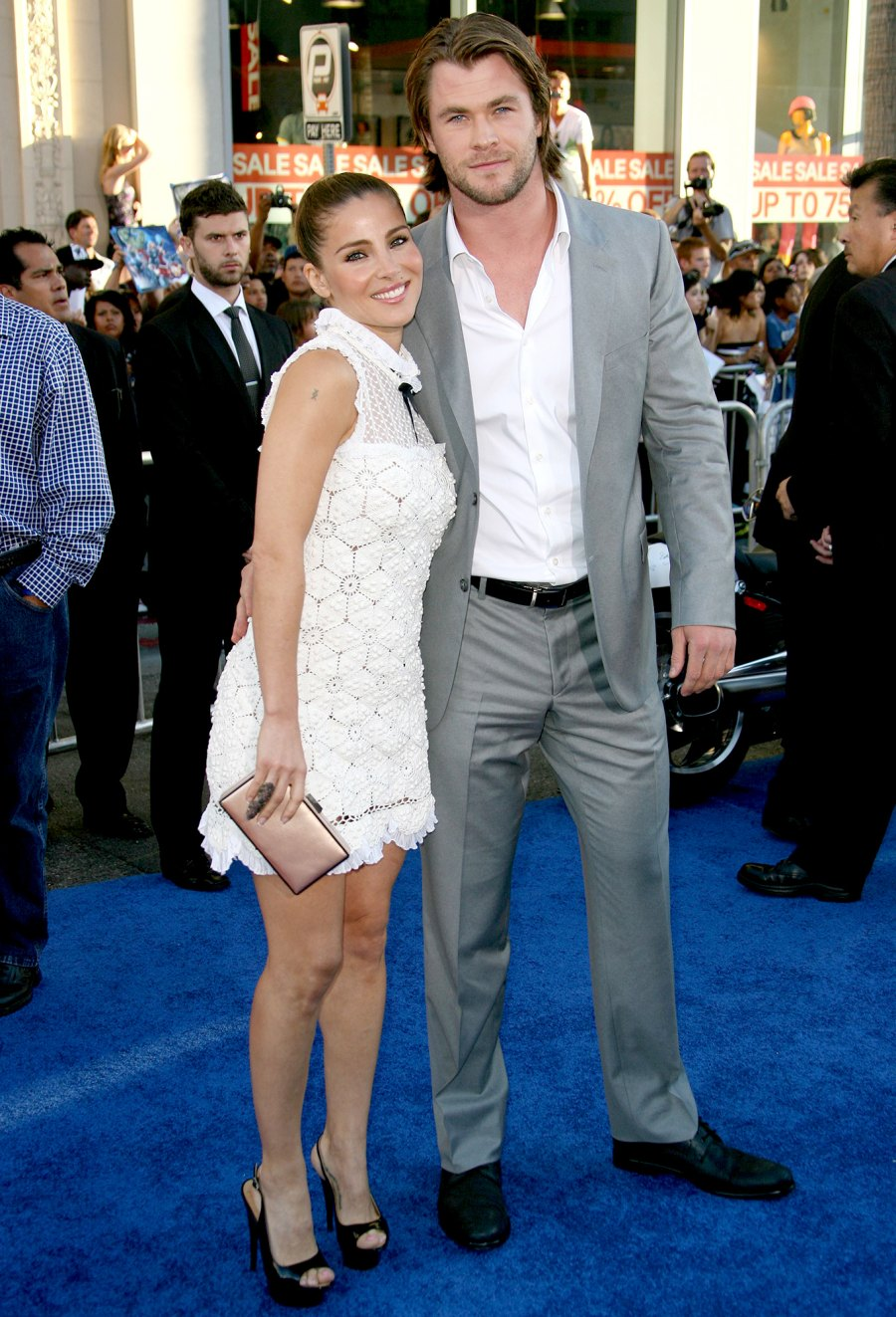 2 Married in December 2010 Chris Hemsworth and Elsa Pataky
