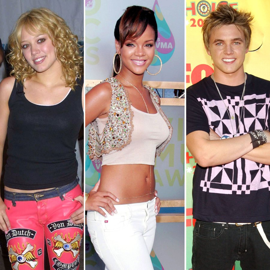 2000s Pop Stars Then and Now