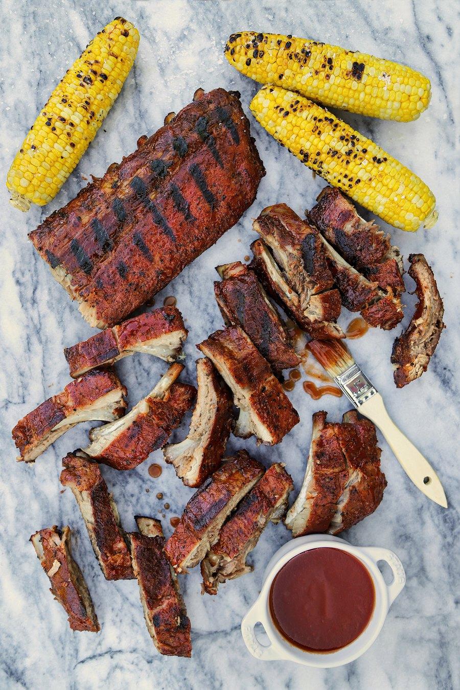 3 Barbecue Baked Ribs Tiffani Thiessen recipe