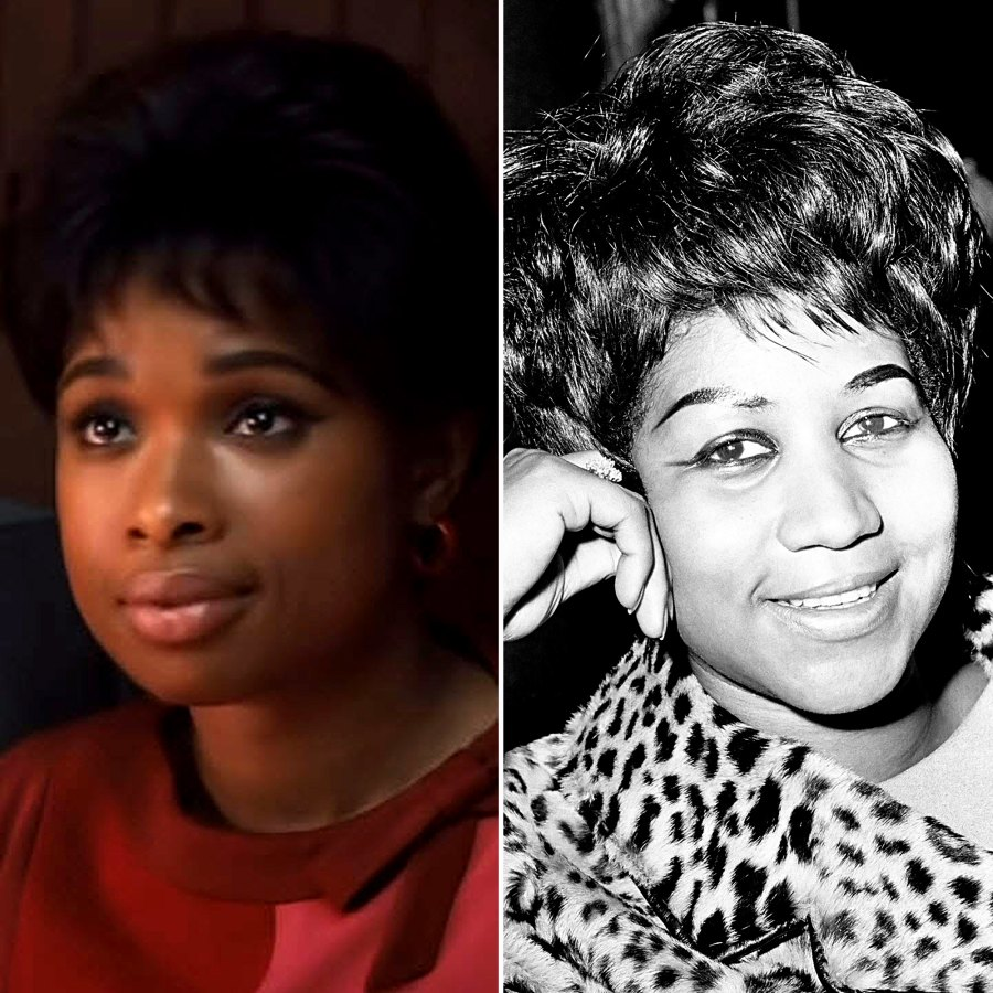 Actors Who Portrayed Real People in Movies Jennifer Hudson Aretha Franklin Respect