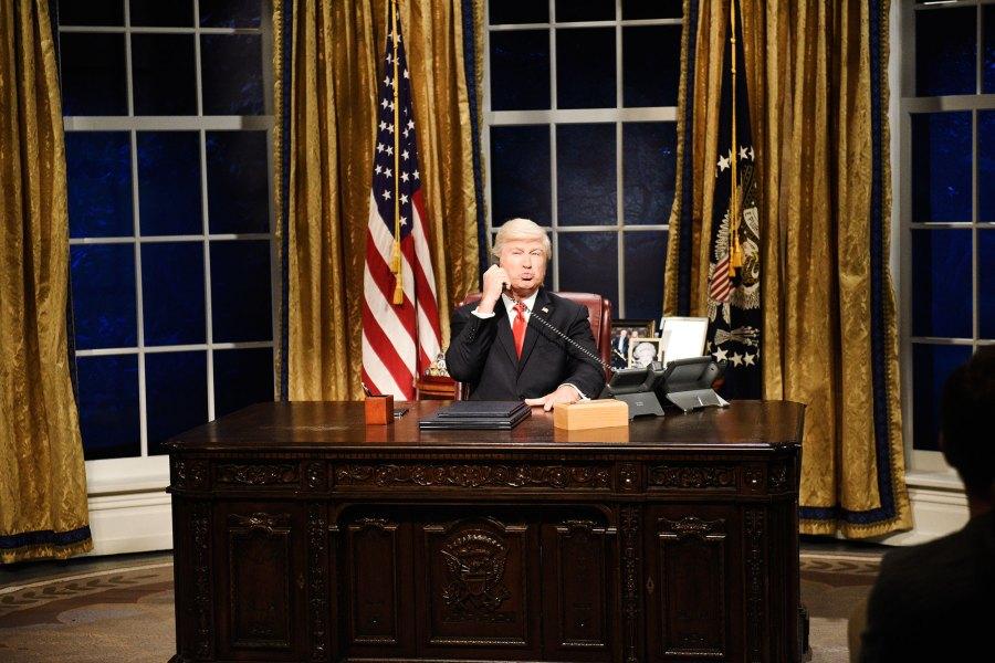 Alec Baldwin Funniest SNL Moments Trump Cold Open