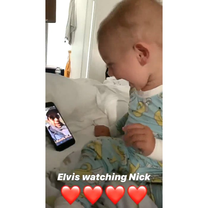 Amanda Kloots Shares Footage of Son Elvis Watching Videos of Late Dad Nick Cordero, Kissing Screen