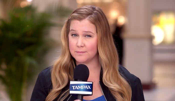 Amy Schumer Wants Fans to Stop Being Afraid of Their Periods