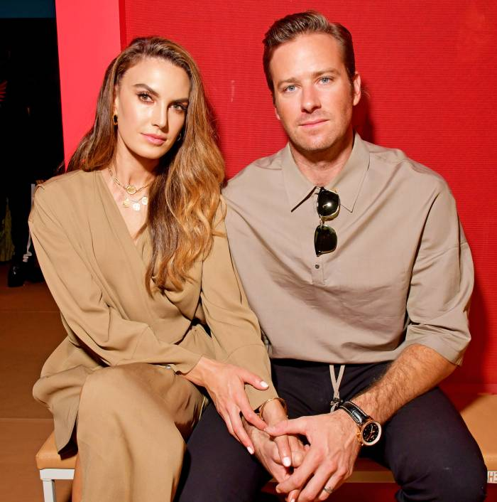 Armie Hammer and Elizabeth Chambers Had Been Having Trouble Before Split