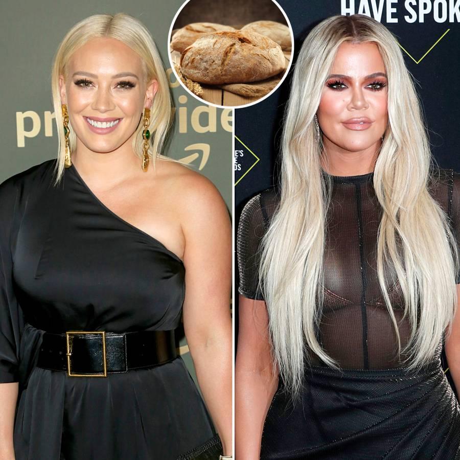 Hilary Duff Khloe Kardashian More Stars Baking Bread Quarantine