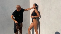Behind-the-Scenes Pics From Bella Hadid's Epic Underwater Calvin Klein Swim Photo Shoot