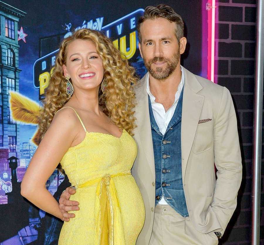 Blake Lively Jokes With Ryan Reynolds About Getting Pregnant Again