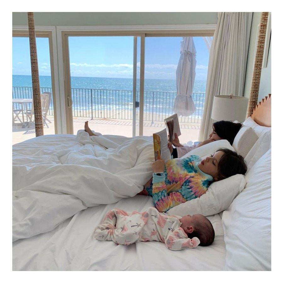Bookworm Teddi Mellencamp Arroyave Daughter Dove Baby Album