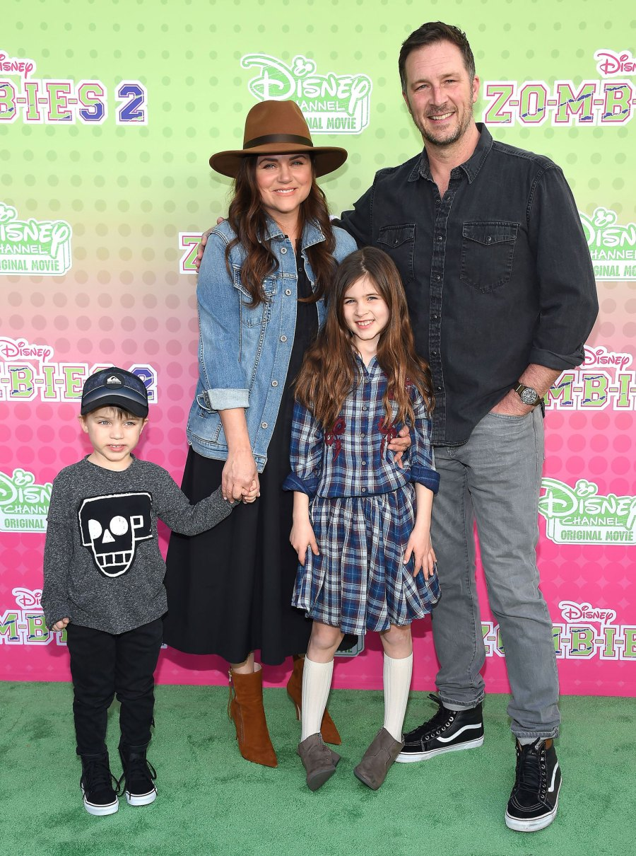 Brady Smith, Harper Smith and Holt Smith Tiffani Thiessen Says She Got Into a Groove After a Really Hard Start to Homeschooling