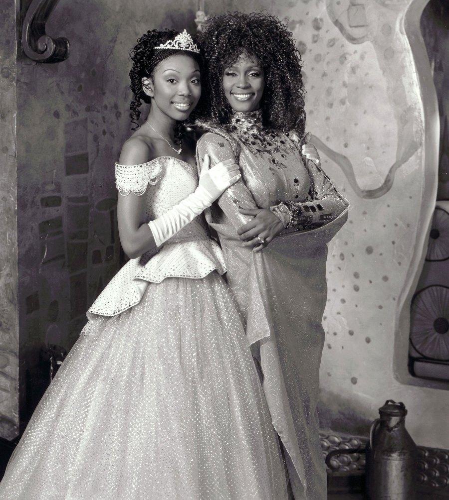 Brandy Cinderella Not on Disney Whitney Houston