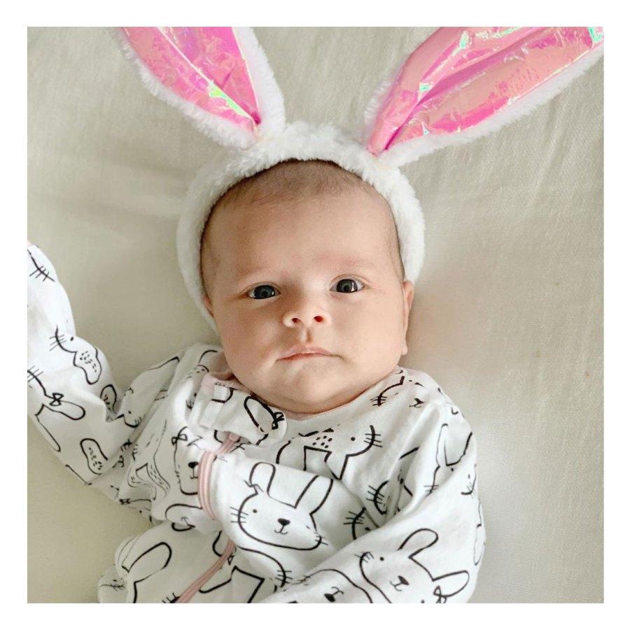 Bunny Ears Teddi Mellencamp Arroyave Daughter Dove Baby Album