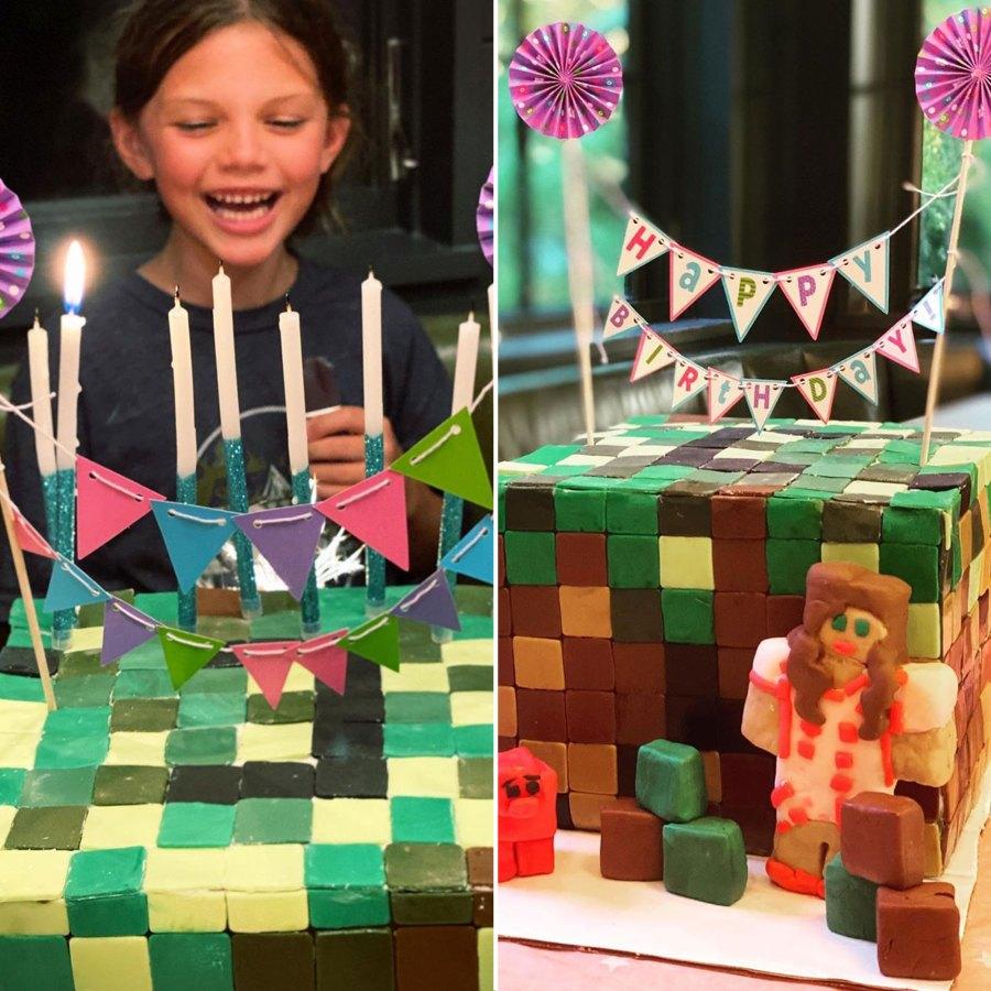 Busy Philipps Cricket Quarantine Birthday Minecraft