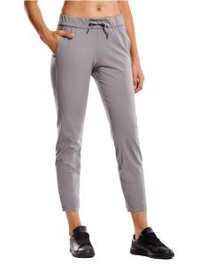 CRZ YOGA Women's Stretch Lounge Sweatpants (Lunar Rock)