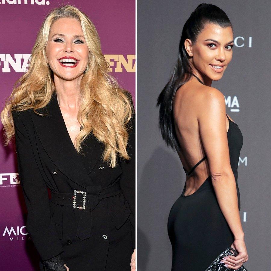 Christie Brinkley Kourtney Kardashian Stars Reveal Quarantine Weight Gain