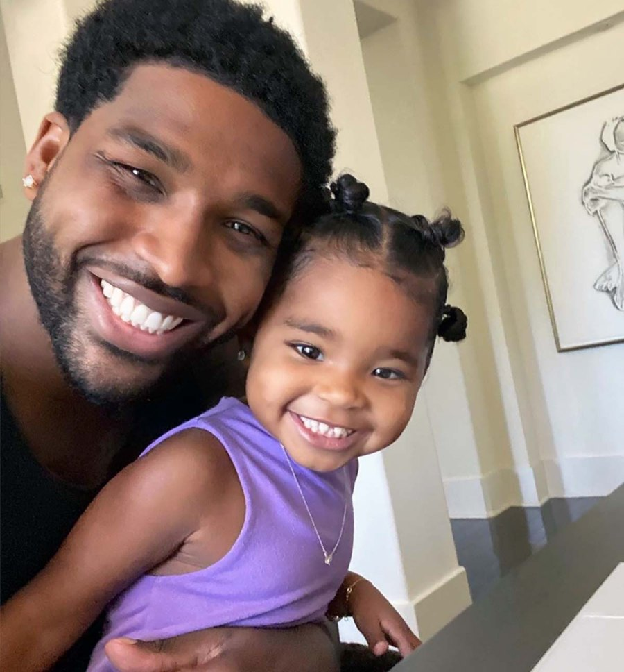 Totally Twinning! Tristan Thompson, More Parents With Their Look-Alike Kids