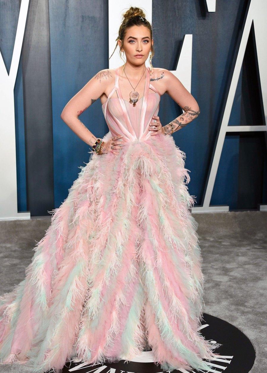 Celebs Wearing Versace - Paris Jackson