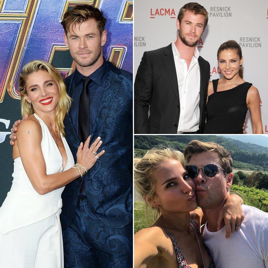 Chris Hemsworth and Elsa Pataky p