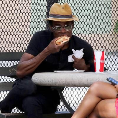 Chris Rock pizza