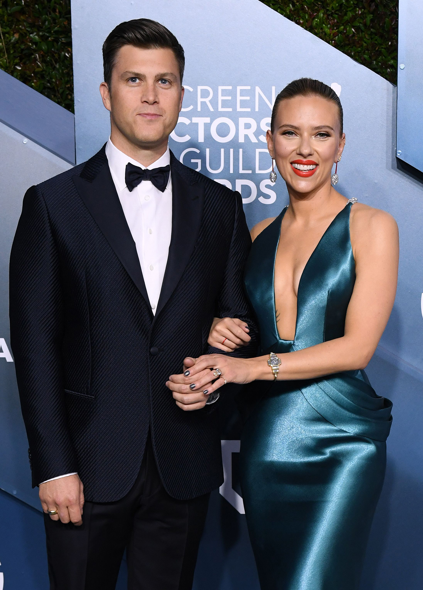 Colin Jost Worried About Losing His Identity With Scarlett Johansson