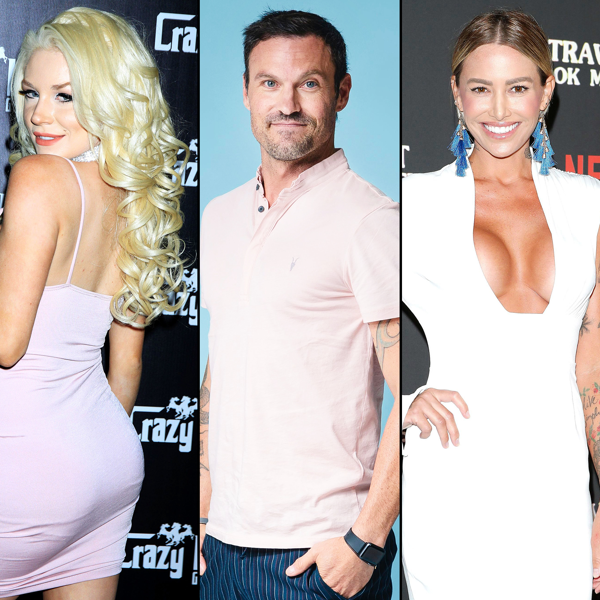 Courtney Stodden Shares Shirtless Video of Brian Austin Green Hours After His Date With Model Tina Louise