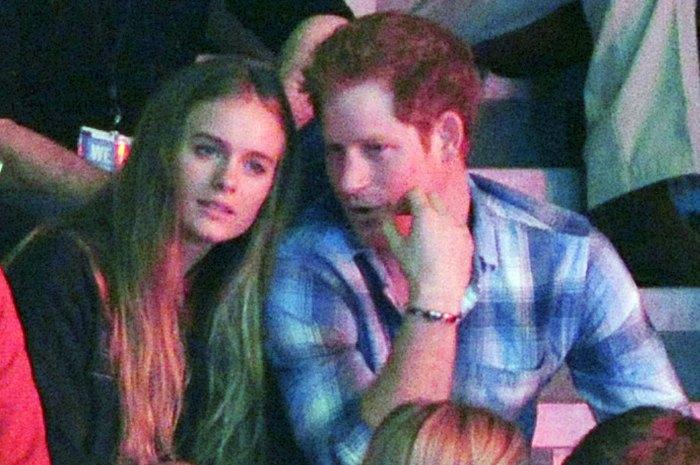 Cressida Bonas and Prince Harry in 2014