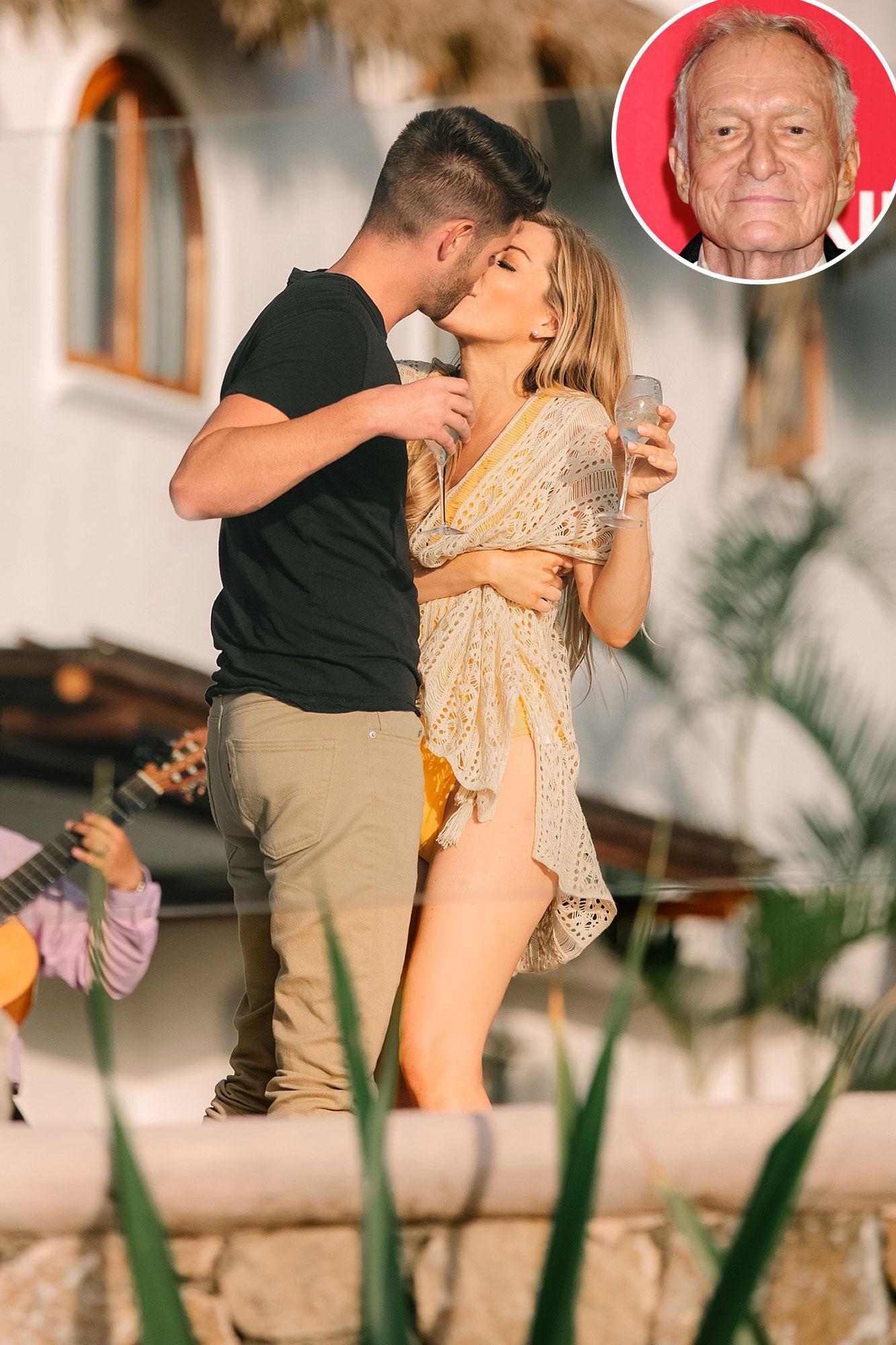 Crystal Hefner Is Dating Nathan Levi After Hugh Hefner S Death