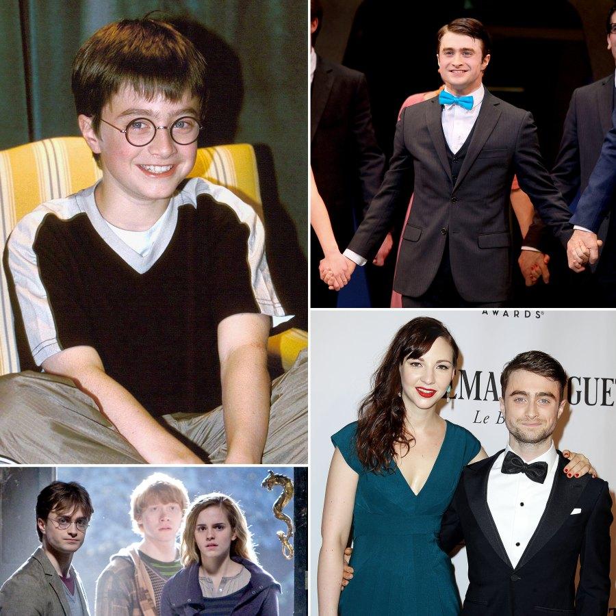 Daniel Radcliffe Through The Years p