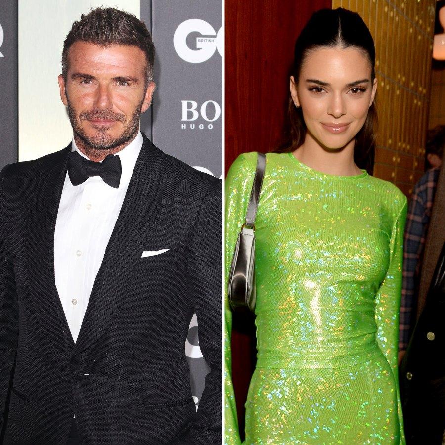 David Beckham Kendall Jenner cooking with parents
