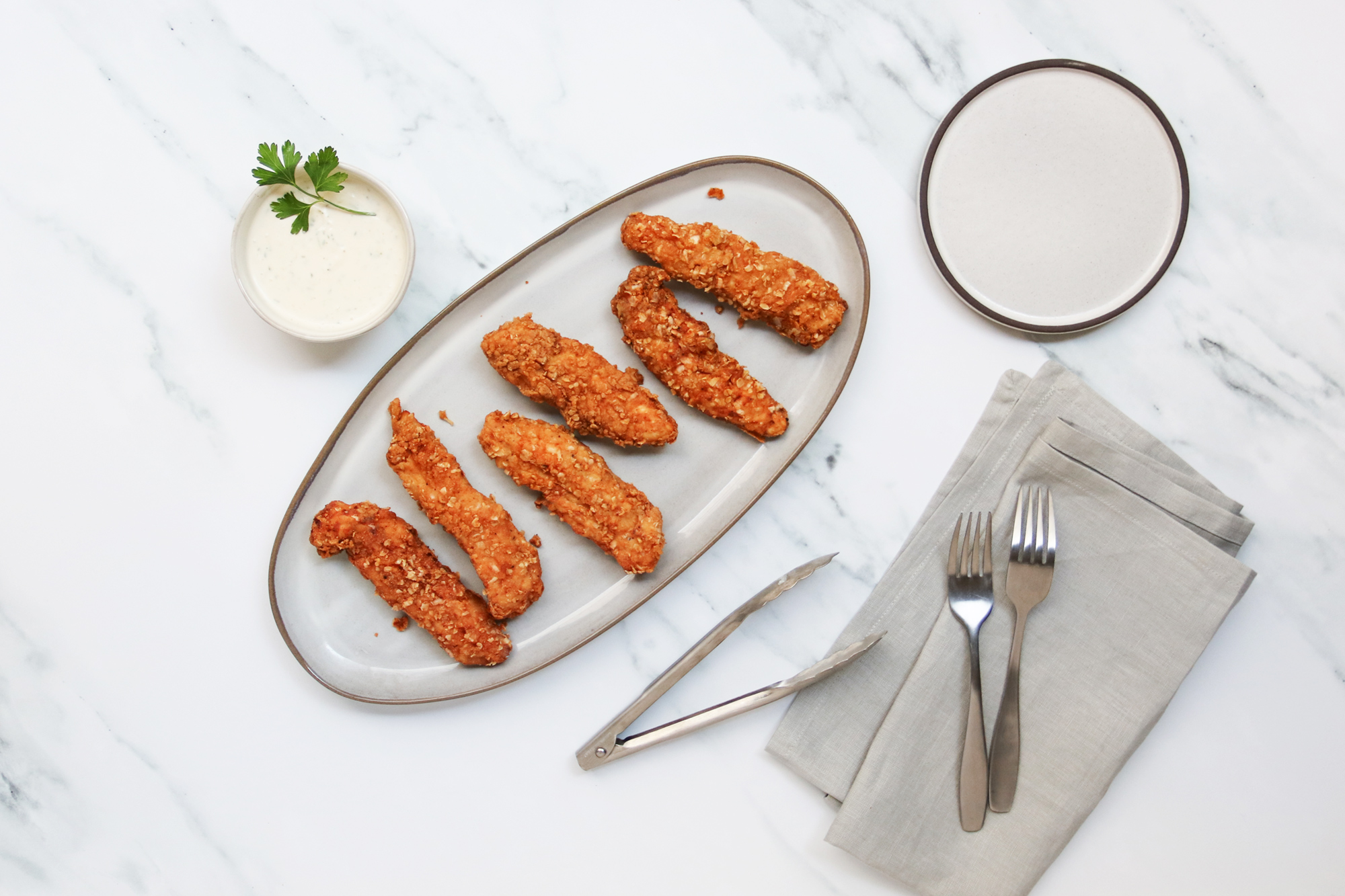 Dax Shepard's Kids Love This Oat-Crusted Chicken Tenders Recipe