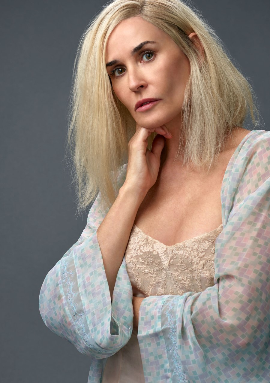 The Internet Has Mixed Feelings About Demi Moore With Blonde Hair