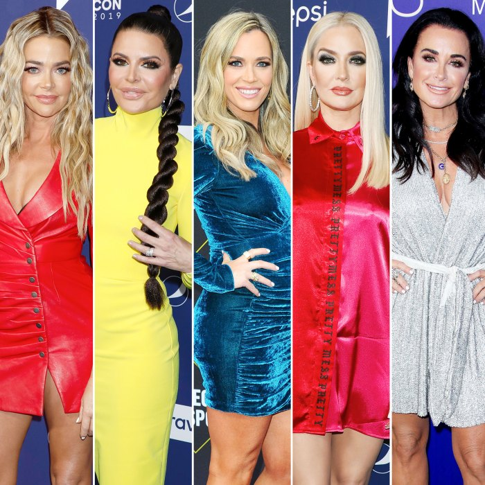 Denise Richards Likes Shady Tweets About Real Housewives Of Beverly Hills Costars Lisa Rinna Teddi Mellencamp Erika Jayne and Kyle Richards