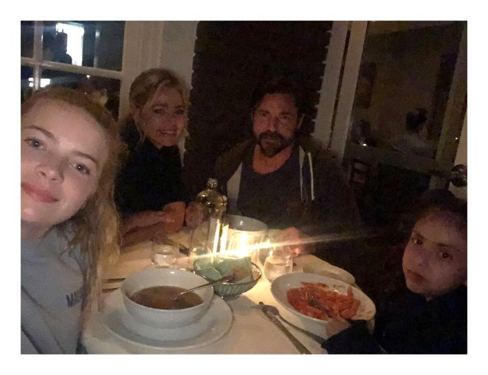 Denise Richards Quits Her Vegetarian Diet Family Dinner Instagram