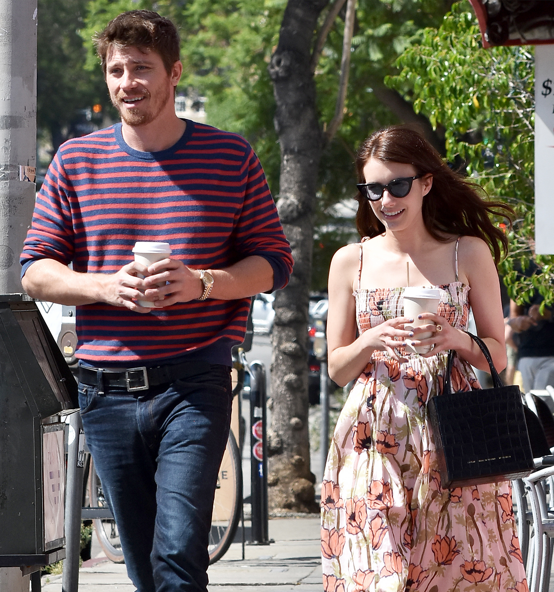 Emma Roberts, Garrett Hedlund 'Shocked and Happy' About ...