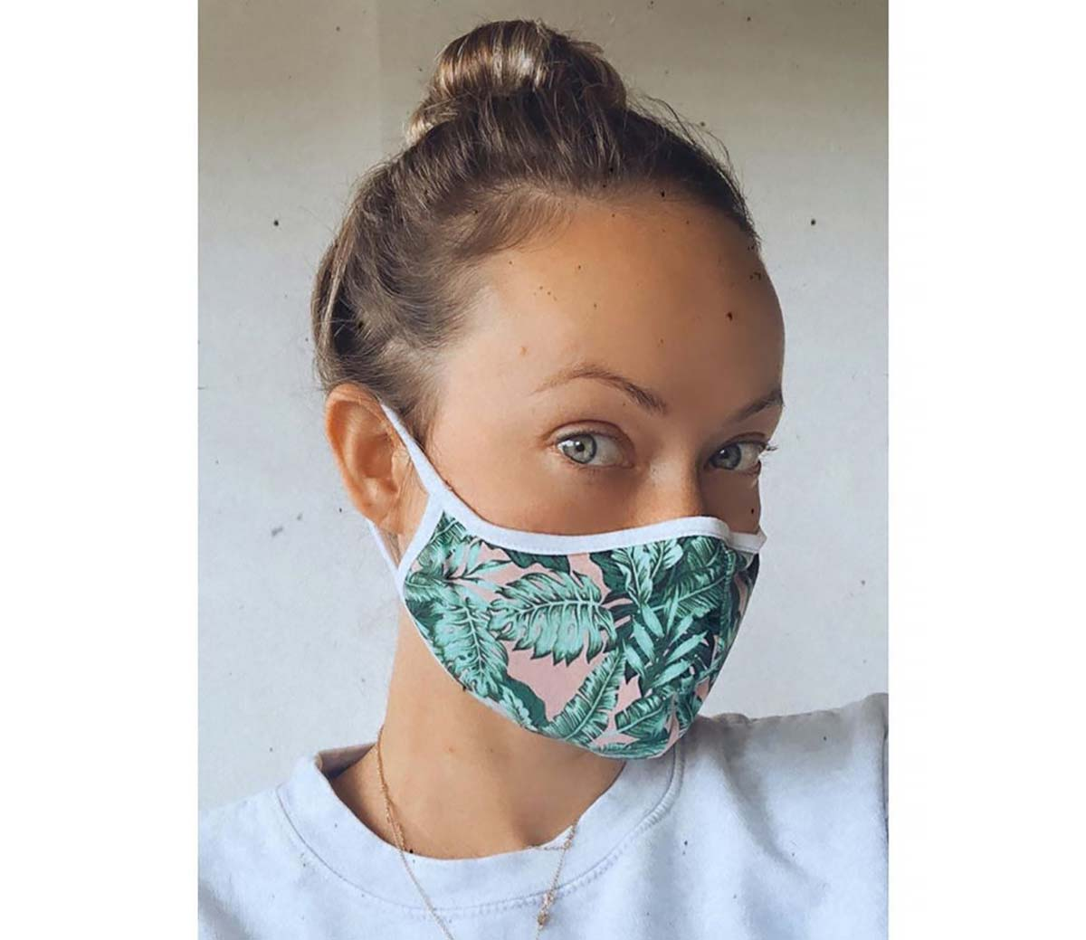 Celebrities Wearing Stylish COVID-19 Protective Face Masks: Shop