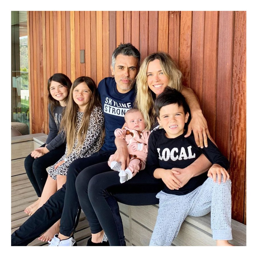 Family Photo Teddi Mellencamp Arroyave Daughter Dove Baby Album
