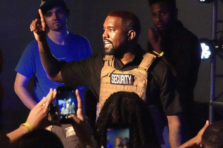 Kanye West Outrageous Statements From 1st Presidential Campaign Rally
