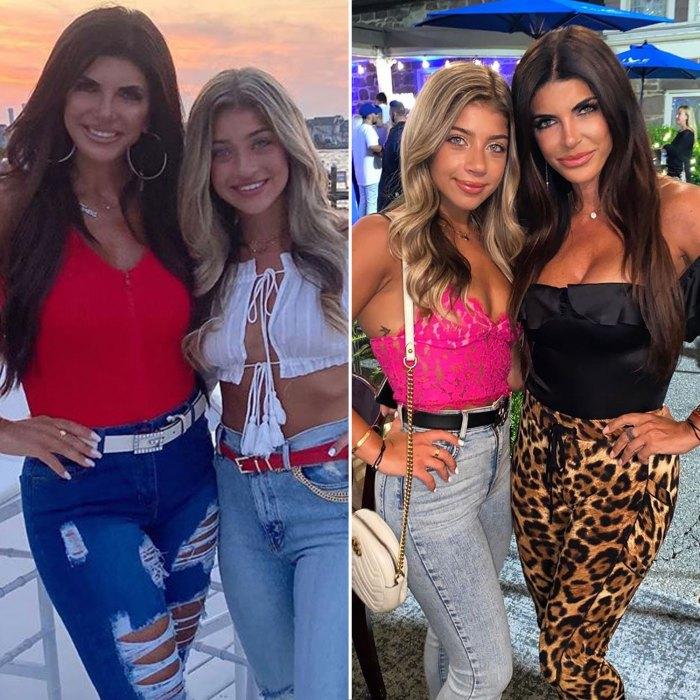 Gia Giudice Teresa Giudice Daughter Nose Job Before and After