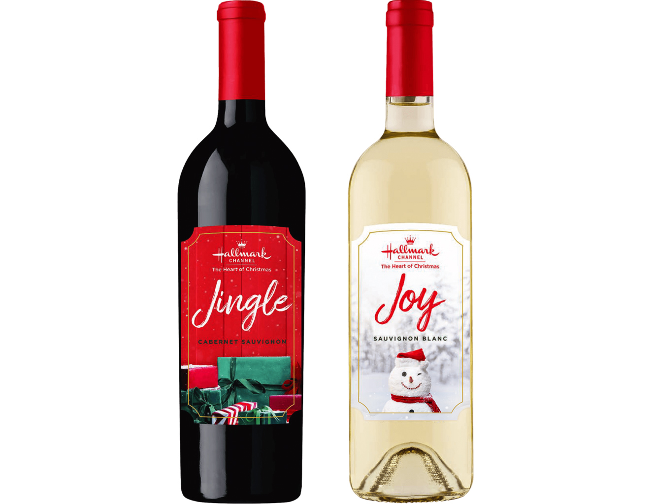 Hallmark Christmas Jingle Joy Wine