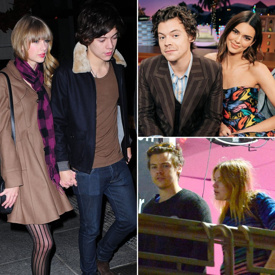 Harry Styles' Dating History: Taylor Swift, Kendall Jenner, Camille Rowe and More