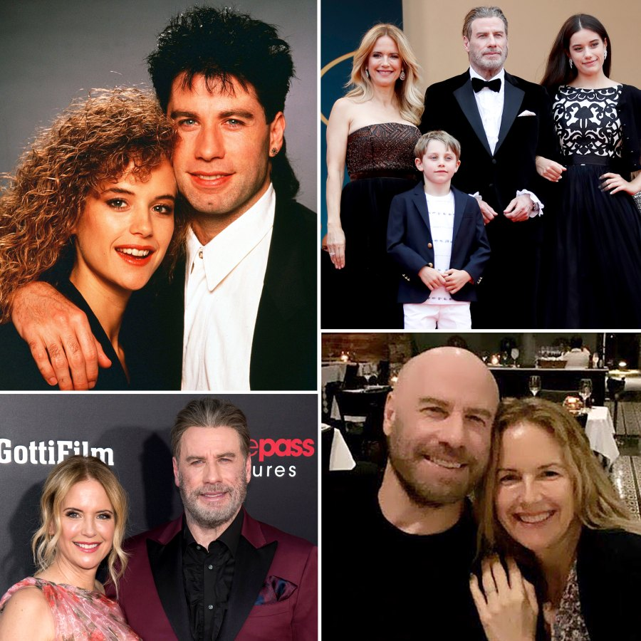 Inside John Travolta Kelly Preston Loving Relationship A Timeline