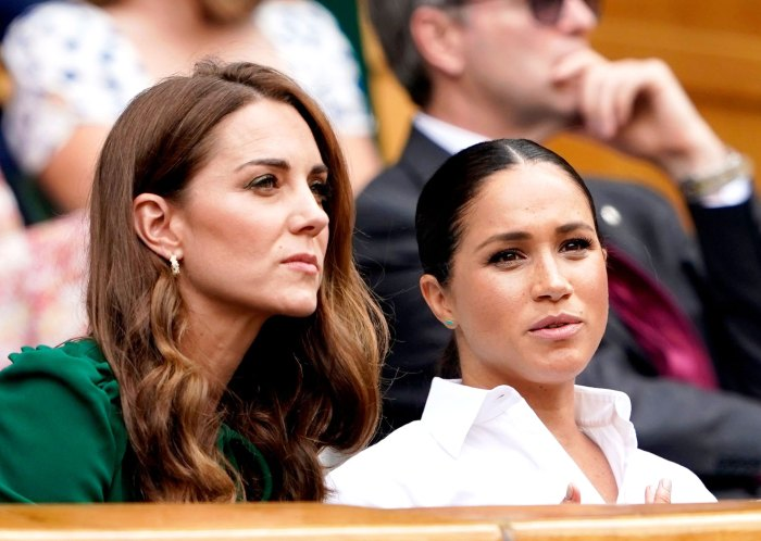 Inside Meghan Markle Duchess Kate Frosty Relationship